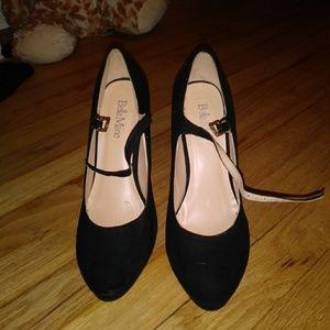 Bella Marie suede heels